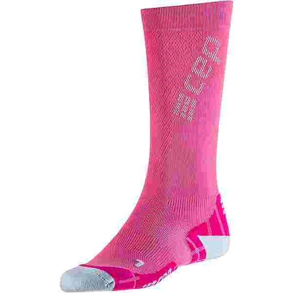 CEP Ultralight Compression Kompressionsstrümpfe Damen electric pink-light grey