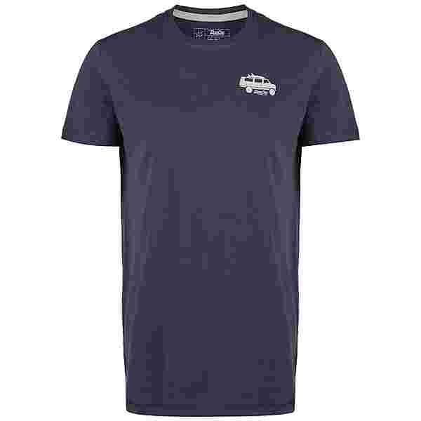 VAN ONE Van T-Shirt Herren dunkelblau / beige