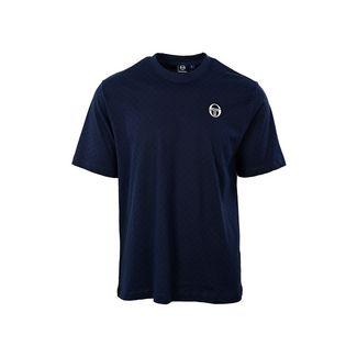 SERGIO TACCHINI Din T-Shirt T-Shirt Herren navy/white