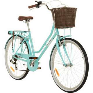 "Galano Belgravia 26"" Cityrad Damenrad Citybike Damen hellblau"
