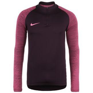 Nike Strike Funktionssweatshirt Herren weinrot / dunkelrot