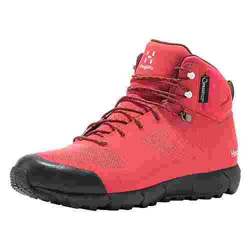 Haglöfs L.I.M Mid Proof Eco Wanderschuhe Damen Hibiscus red