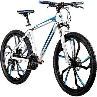 Galano Primal 650B Mountainbike Hardtail MTB Hardtail weiß/blau