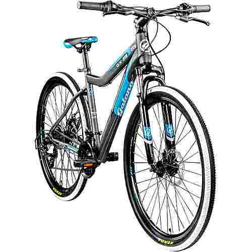 Galano GX-27,5 650B Mountainbike Fahrrad MTB Hardtail grau/blau