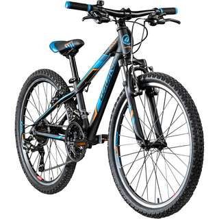 "Galano G200 24"" Jugendrad Mountainbike Dirt Bike schwarz/blau"