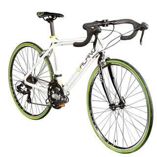 """Galano Vuelta STI 26"""" Rennrad Jugendrad MTB Hardtail weiß/grün"""