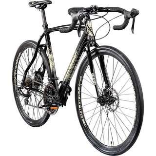 Galano Gravel STI 700c Gravel Bike Cross Rennrad anthrazit/creme