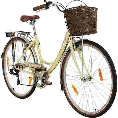 "Galano Piccadilly 700c Damenfahrrad 28"" Citybike Damen elfenbein"