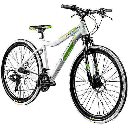 Galano GX-27,5 650B Mountainbike Fahrrad MTB Hardtail weiß/grün