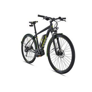 FUJI E-Traverse 1.3+ 700c eBike Crossrad MTB Hardtail satin black