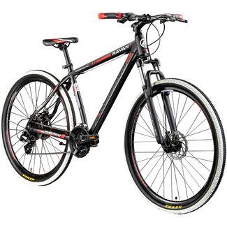 Galano Ravan 29Zoll Mountainbike Fahrrad MTB Hardtail schwarz/rot