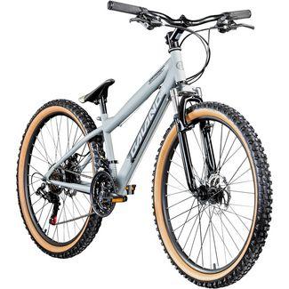 Galano G600 26 Zoll Dirtbike MTB Fahrrad MTB Hardtail silbergrau/schwarz