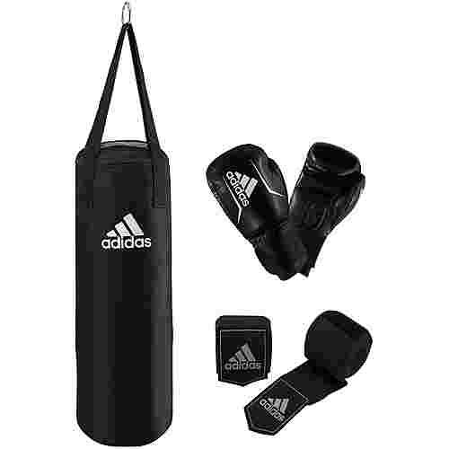 adidas Boxset Boxsack schwarz