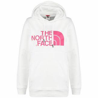 The North Face Drew Hoodie Damen weiß / pink