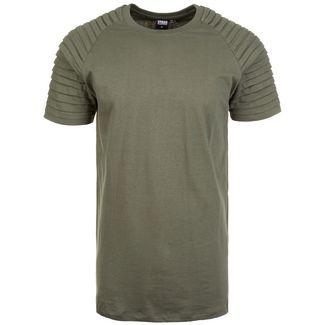Urban Classics Pleat Raglan T-Shirt Herren oliv