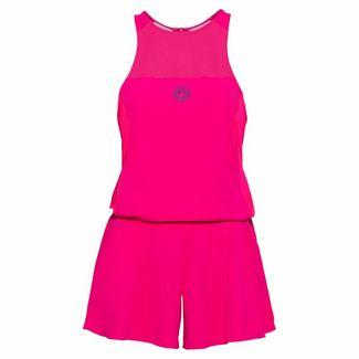 BIDI BADU Faye Tech Jumpsuit (3 In 1) Tenniskleid Damen pink/dunkelblau