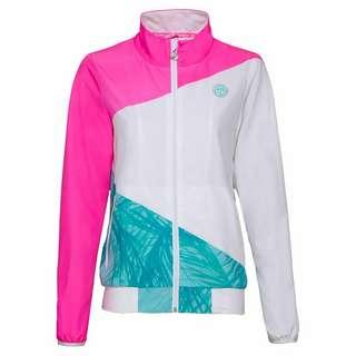 BIDI BADU Gene Tech Jacket Funktionsjacke Damen pink/weiß/mint