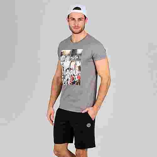 BIDI BADU Godson Lifestyle Tee Tennisshirt Herren dunkelgrau