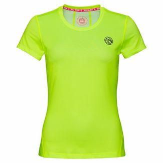 BIDI BADU Calla Tech Roundneck Tee Tennisshirt Kinder neongelb