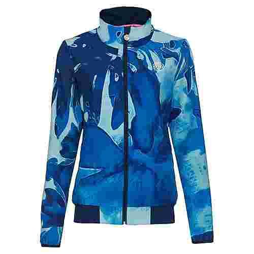 BIDI BADU Gene Tech Jacket Funktionsjacke Damen turquoise/dunkelblau