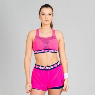 BIDI BADU Faye Tech Jumpsuit (3 in 1) Tenniskleid Damen dunkelblau/pink