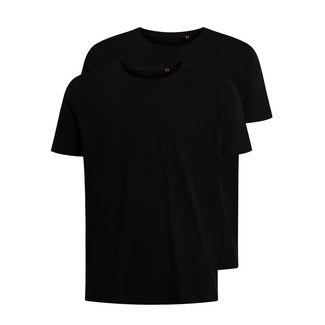 Shirts for Life Franky 2.0 Dopplepack T-Shirt Herren black