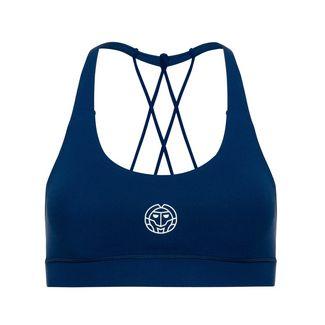 BIDI BADU Letty Tech Strappy Bra Sport-BH Damen dunkelblau