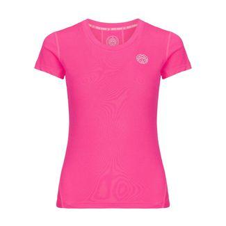 BIDI BADU Eve Tech Roundneck Tee Tennisshirt Damen pink