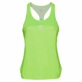 BIDI BADU Mea Tech Tank Tennisshirt Damen neongrün