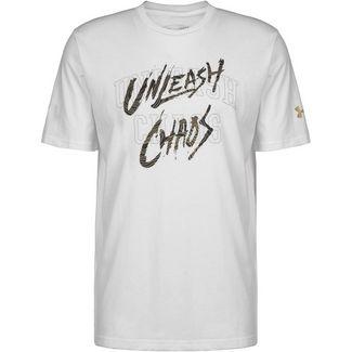 Under Armour Baseline Mantra Basketball Shirt Herren weiß / schwarz