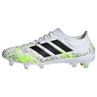 adidas Copa 20.1 FG Fußballschuh Fußballschuhe Herren Cloud White / Core Black / Signal Green