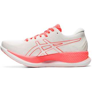 ASICS GLIDERIDE SUNRISE RED Laufschuhe Damen white-sunrise red