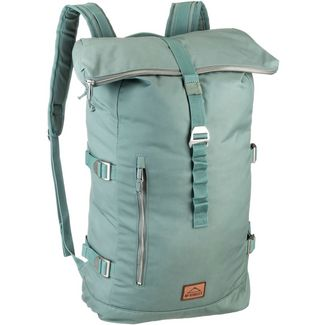 Mc Kinley Rucksack Daybag London Rolltop 32L Daypack green dark