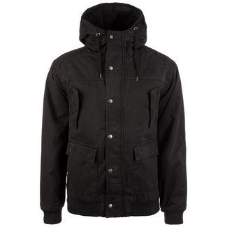 Urban Classics Hooded Cotton Herren Outdoorjacke Herren schwarz