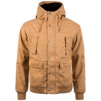 Urban Classics Hooded Cotton Herren Outdoorjacke Herren hellbraun