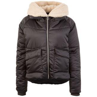 Urban Classics Sherpa Hooded Damen Outdoorjacke Damen schwarz