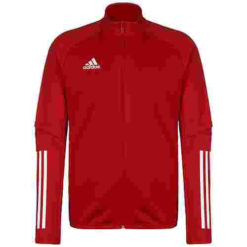 adidas Condivo 20 Trainingsjacke Herren rot / weiß