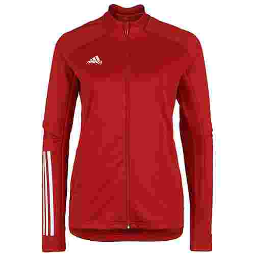 adidas Condivo 20 Trainingsjacke Damen rot / weiß