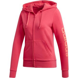 adidas Linear Sweatjacke Damen power pink