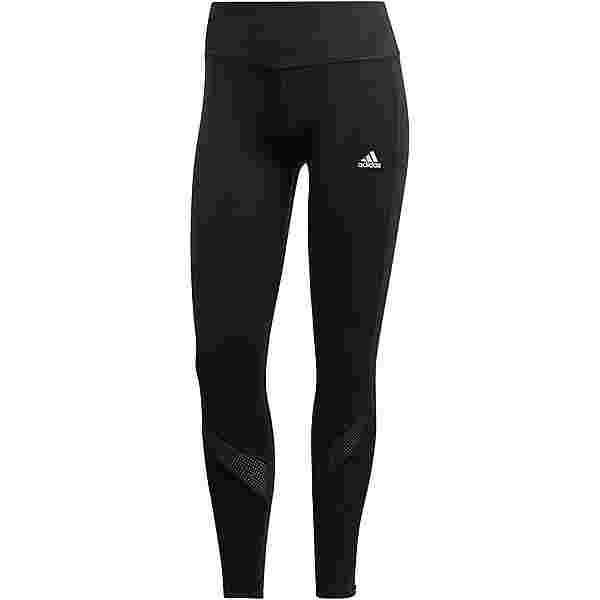 adidas OWN THE RUN RESPONSE AEROREADY Lauftights Damen black