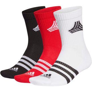 adidas Tango Socken Pack scarlet