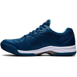 ASICS GEL-DEDICATE 6 CLAY Tennisschuhe Herren mako blue-white