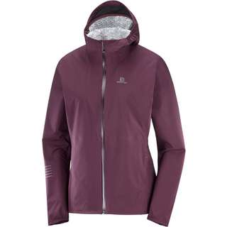 Salomon LIGHTNING Regenjacke Damen winetasting