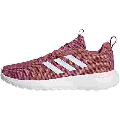adidas Lite Racer CLN Sneaker Damen trace maroon-ftwr white-pink tint
