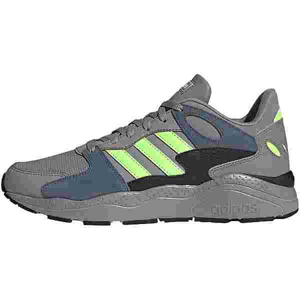 adidas Crazychaos Sneaker Herren dove grey-signal green-core black