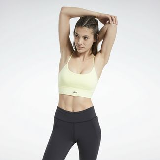 Reebok Sport-BH Damen Gelb