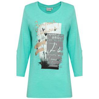 Finn Flare Printshirt Damen aquamarine