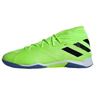 adidas Nemeziz 19.3 IN Fußballschuh Fußballschuhe Herren Signal Green / Core Black / Royal Blue