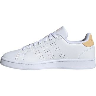 adidas Advantage Sneaker Damen ftwr white-ftwr white-orange tint