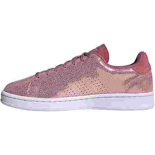 adidas Advantage Sneaker Damen trace maroon-trace maroon-cherry met.
